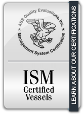 Offshore Towing ISO 9001 and ISM certified